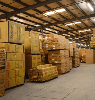 Massood Logistics Warehouse