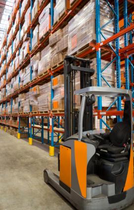 3PL Warehouse - Forklift