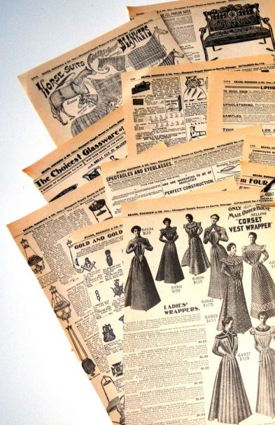 History of Drop Shipping Furniture and other Goods - Old Catalog Pages