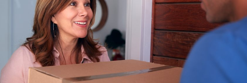Drop Ship Delivery at the front door of house